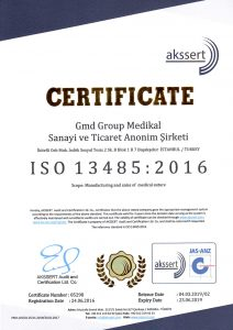 Gmd Group Sertifikalar